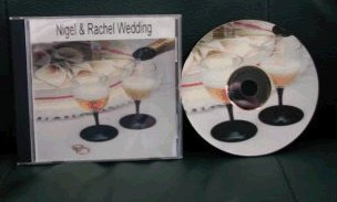 Example CD insert and jewel case